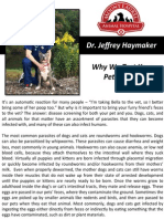 Why We Test Your Pets Poop