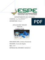 Informe Capacitor