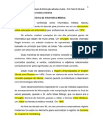 Capitulo 01 - Definicoes Basicas Da Informatica Medica