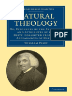 (Cambridge Library Collection - Religion) William Paley-Natural Theology_ or, Evidences of the Existence and Attributes of the Deity, Collected From the Appearances of Nature (Cambridge Library Collec