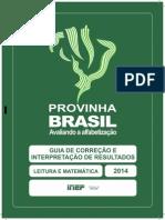 Provinha Brasil 2 Guia Correcao Interpretacao Resultados