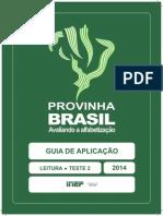 Provinha Brasil 2-2014 Guia Aplicacao Leitura