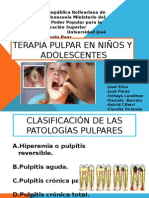 Terapia Pulpar en Niños y Adolescentes Diapositivas