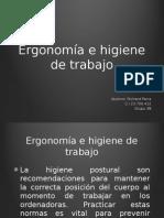 Presentación de Ergonomia e higiene.pptx
