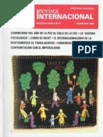 Revista Internacional - Nuestra Epoca N°12 - Edición Chilena - Diciembre 1986