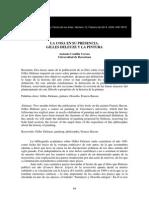 Castilla, Deleuze y La Pintura