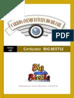 CATÁLOGO DE MINIATURAS - BIG BEETLE - Carros Inesquecíveis do Brasil - Escala 1:43
