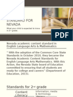 2nd grade standard for nevada powerpoint