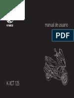 Kymco - Scooter - K-XCT_125i_manual