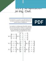 Las Matrices y Su Aplicación en Ing