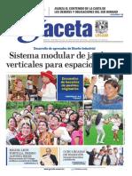 Gaceta UNAM 15/10/2015