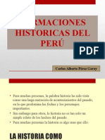 Formaciones Historicas Del Peru