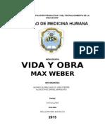 Informe de Max Weber!