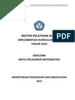 Materi Pelatihan Kur 13 SMA/SMK 2015 Final 25Mei