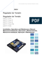 WEG Regulador de Tensao Grt7 Th4 10040217 Manual Portugues Br[1]