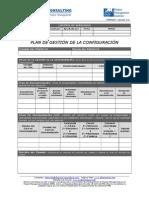 Plantilla Plan de Gestión de La Configuración
