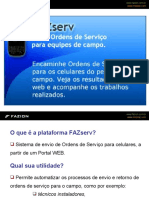 FAZserv - Ordem de Serviços