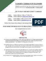 Demand Red Light Camera Reform in Illinois_Alternate