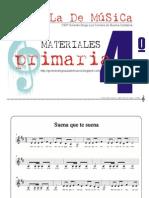 Materiales 4º primaria