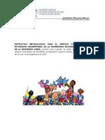 INSTRUCCTIVO METODOLOGICO PARA EL SERVICIO COMUNITARIO DEL ESTUDIANTE UNIVERSITARIO.docx