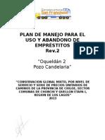 Plan de Manejo Para Empréstitos 2015