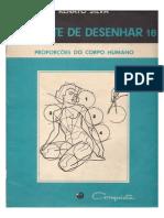 a Arte de Desenhar Proporções da figura humana -  Renato Silva