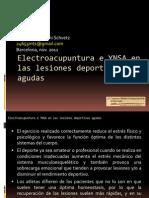 Electroacupuntura e Ynsa en Las Lesiones Deportivas Agudas12