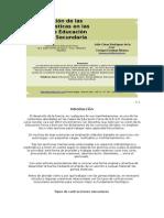 Utilización de Las Gomas en EF
