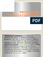 Mechanical Ventilation Types Powerpoint
