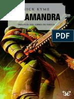 [Warhammer 40000] [El Libro de Fuego 1] Kyme, Nick - Salamandra (r1.0)