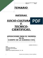 Temario g.c Socio-culturales.