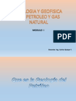 Parte 1 Geologia y Origen Del Petroleo