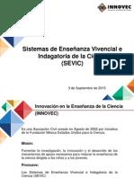 Presentación INNOVEC Septiembre 2015