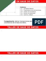 Taller de base de datos unidad 5
