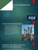 Calculo de Una Columna de Destilación