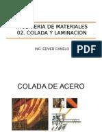 03 Ingenieria de Materiales - Colada y Laminacion