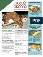 Receita Pão Portugues