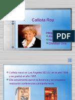Callista Roy2XCDFGXFVCXCVZDS R ZSDFR ZD FZXC FSDE TSRED RYHGF