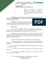 PORTARIA 2942- Revoga Port. 710 - Define documentos de identificação, comp. de endereço para obtenção dos serviços de hab. e reg. de veiculos.pdf