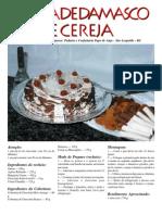 Receita Torta Damasco e Cereja