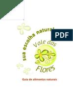 Guia de Alimentos Naturais Vale Das Flores