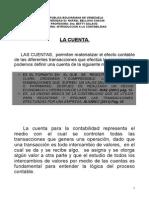 UNIDAD 3 La Cuenta y El Plan de Cuentas
