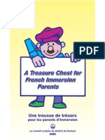 treasure chest for french