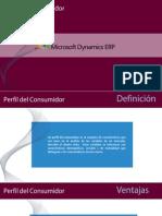 Perfil del consumidor de Microsoft Dynamics ERP