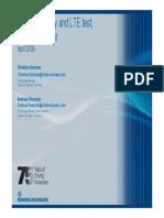 Rohde and Schwarz LTE Tutorial