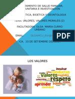 2da Clas LOS VALORES 2014-II.ppt