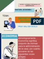 Definicion de La Economia - Unac 2015-b