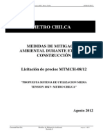 HMSA 0000P COR BA 004 0 Medidas de Mitig Metro Chilca