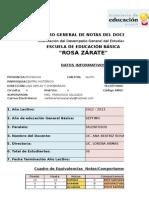 Sistema de Calificaciones Rz Anita