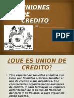 Uniones de Credito
